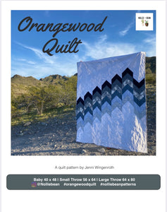 Orangewood Quilt Pattern | Nollie + Bean Patterns