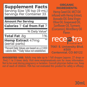 Receptra™ Elite CBD Oil