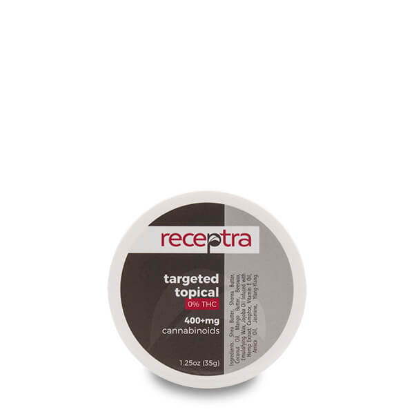 Receptra Targeted Topical™ 0% THC 400mg