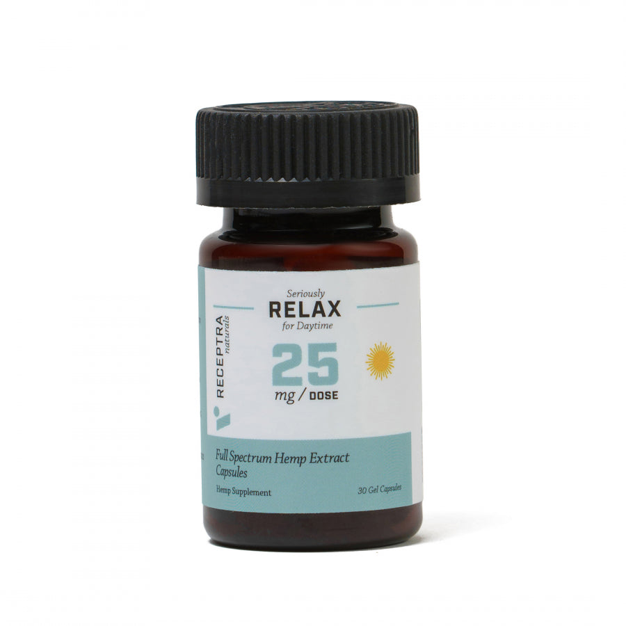 Seriously Relax Gel Capsules 25mg / 30 Gel Caps