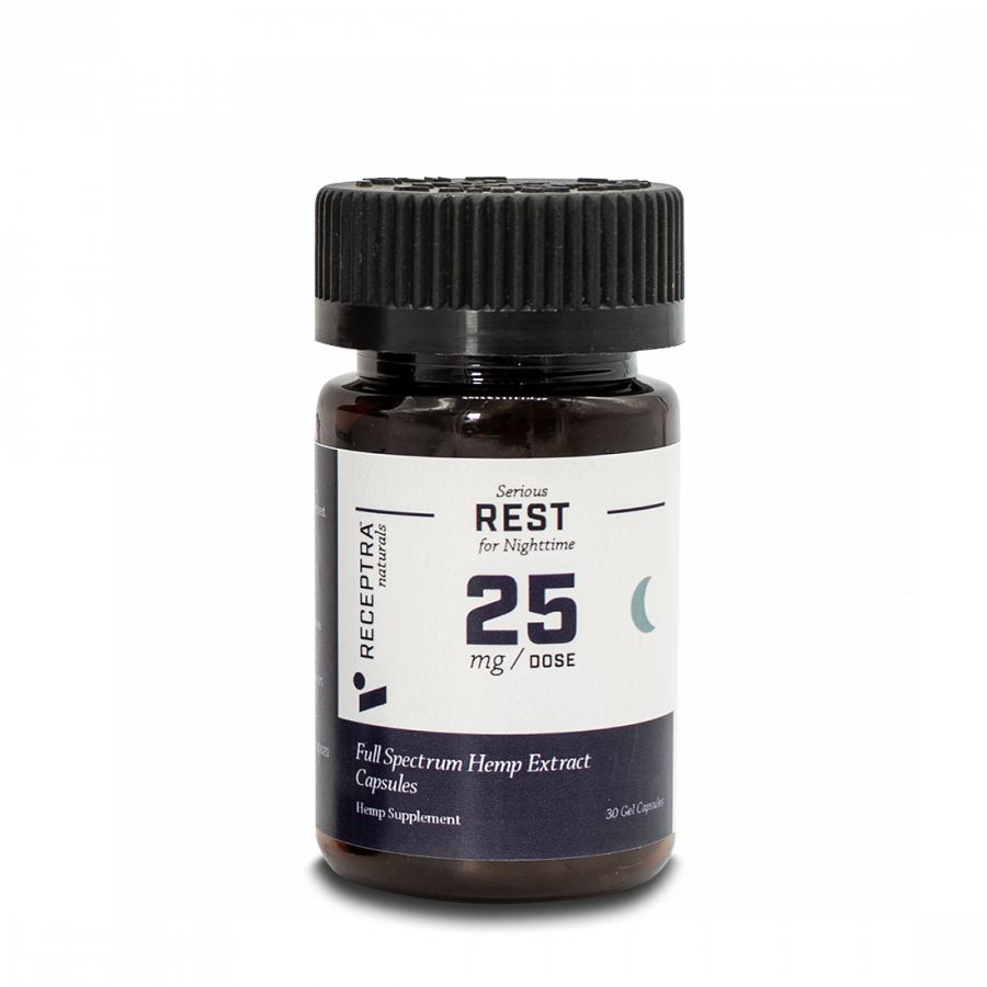Serious Rest Gel Capsules 25mg / 30 Gel Caps