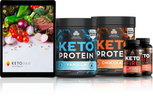 Load image into Gallery viewer, Dr. Axe Keto 360 Weight Loss Program