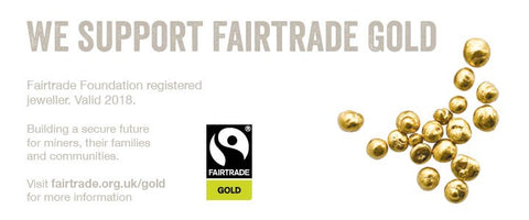 WE SUPPORT FAIRTRADE GOLD