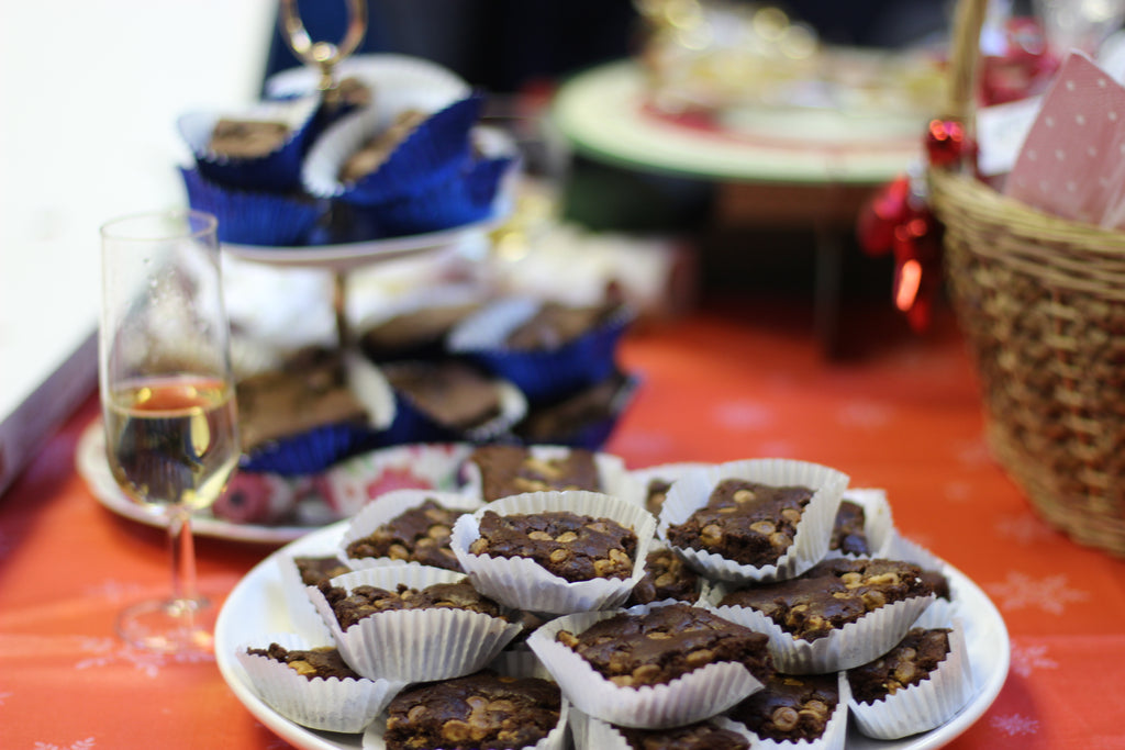 save the children, christmas jumper day, brownies bake sale