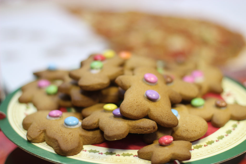 save the children, christmas jumper day, gingerbread men bake sale