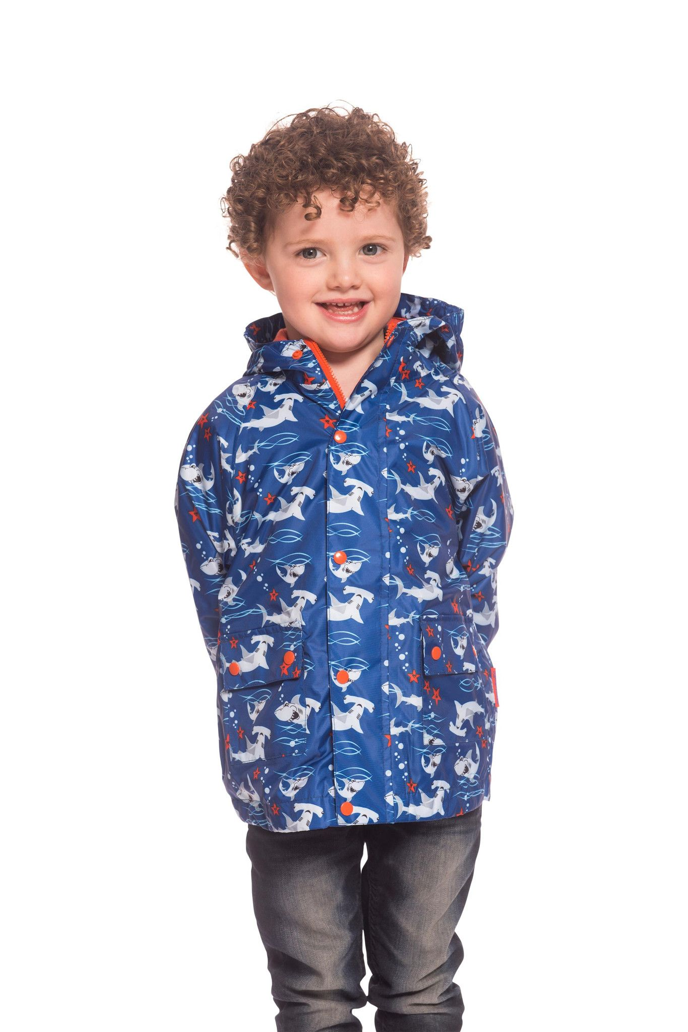 ee12d81f Oscar Boys Hooded Jersey Lined Printed Rain Jacket | Target Dry