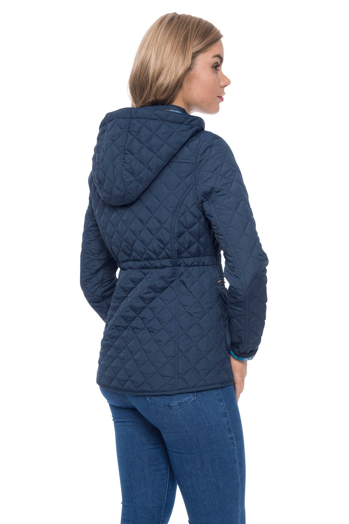 Womens waterproof quilted jacket
