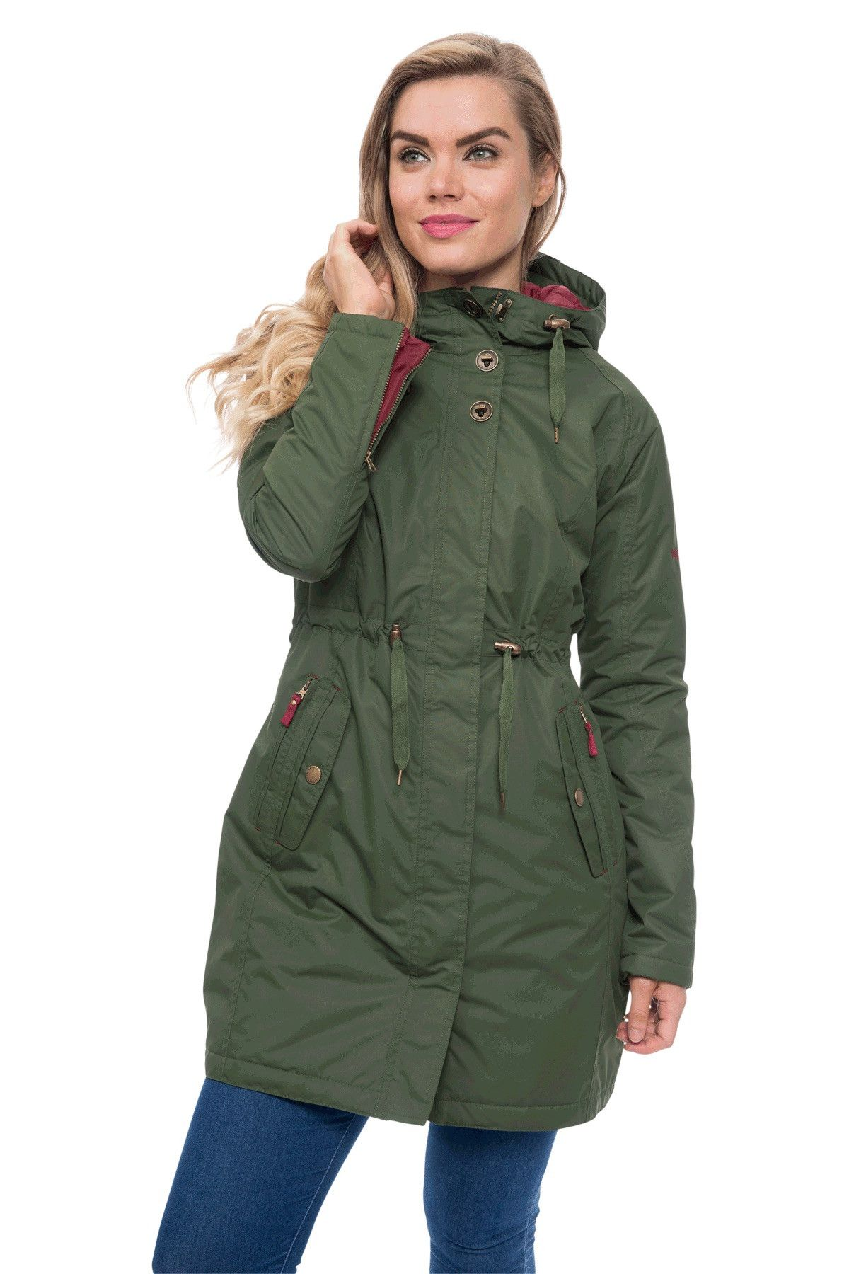 6628e7dc43f Isabella Womens Waterproof Padded Parka Coat