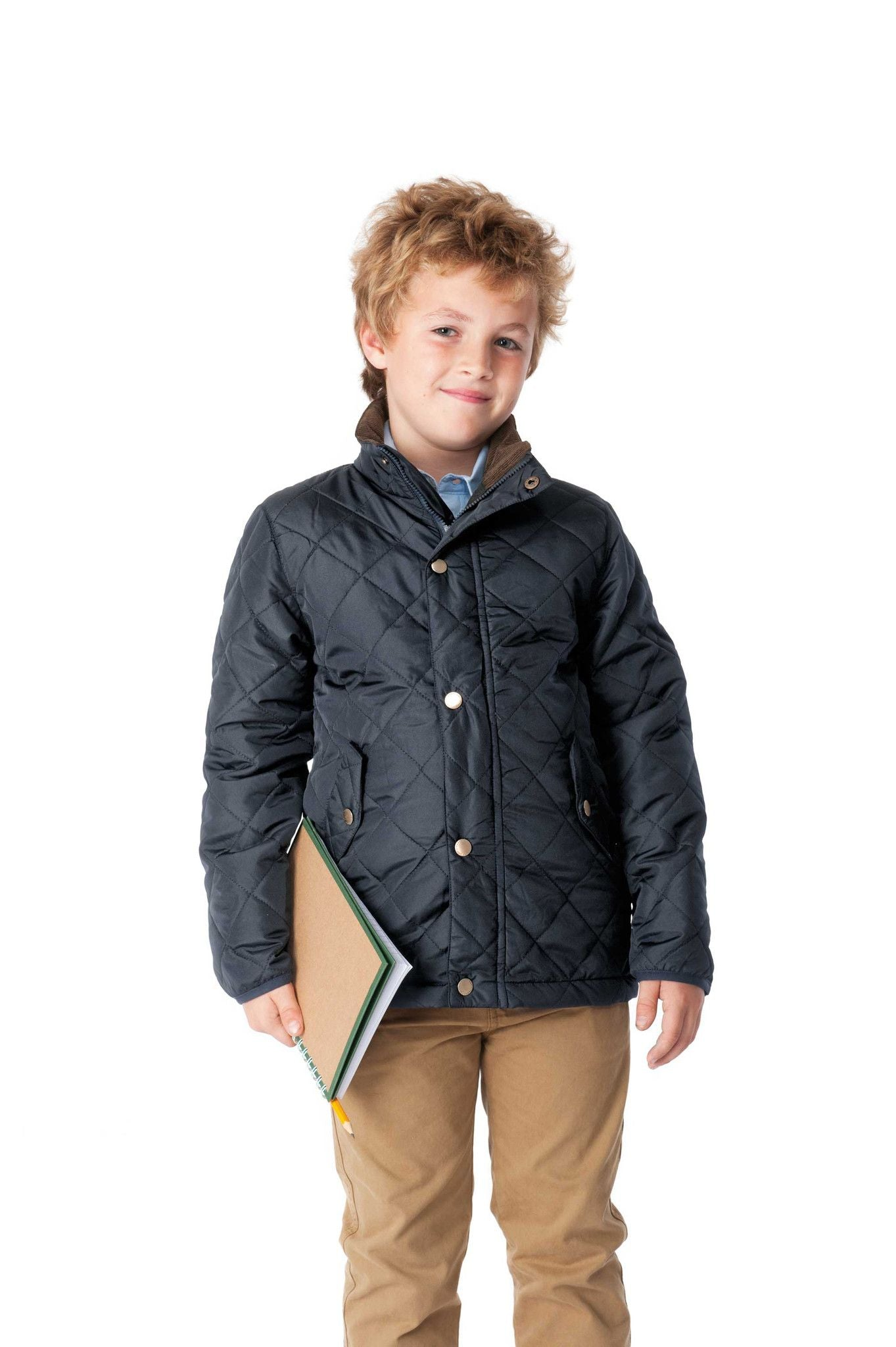 Zach Boys Insulated Quilted Jacket Target Dry