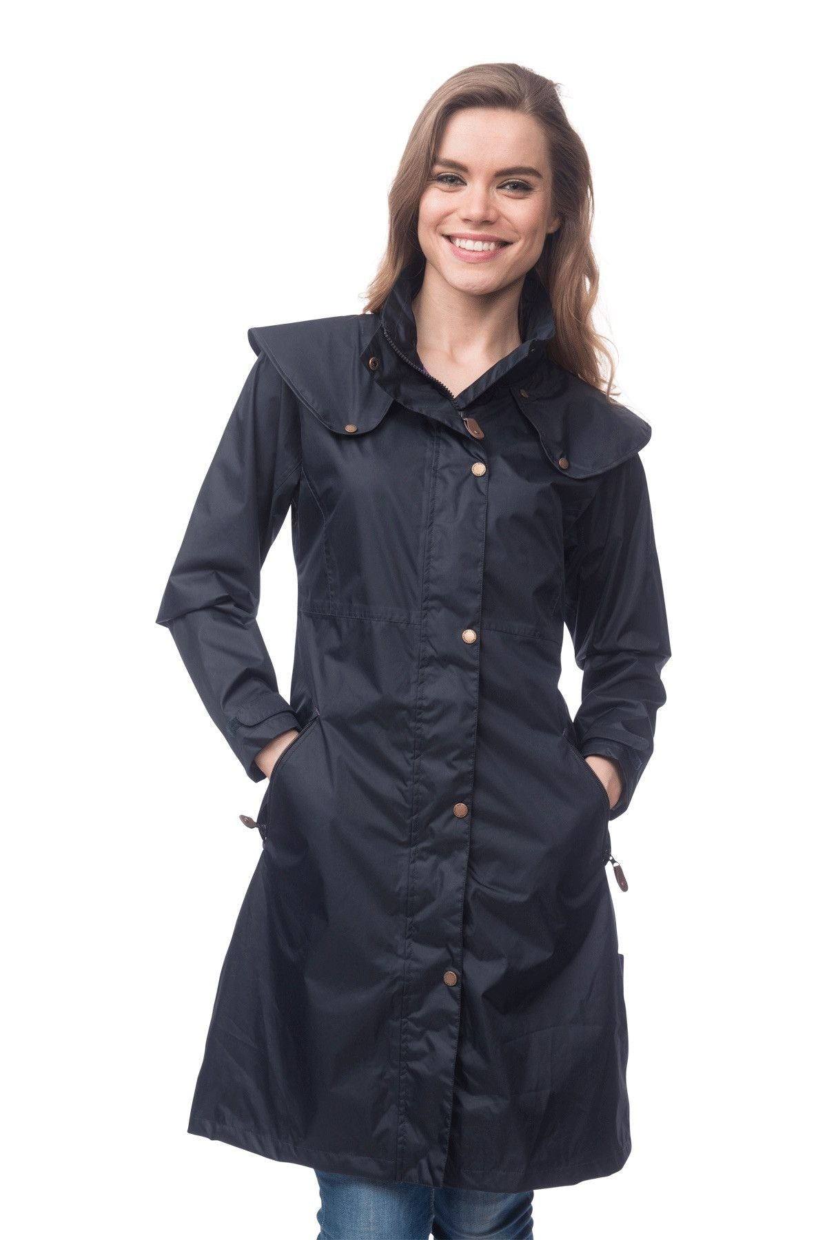 07ab48f2edd ... Target Dry Aintree Ladies 3 4 Length Waterproof Coat ...