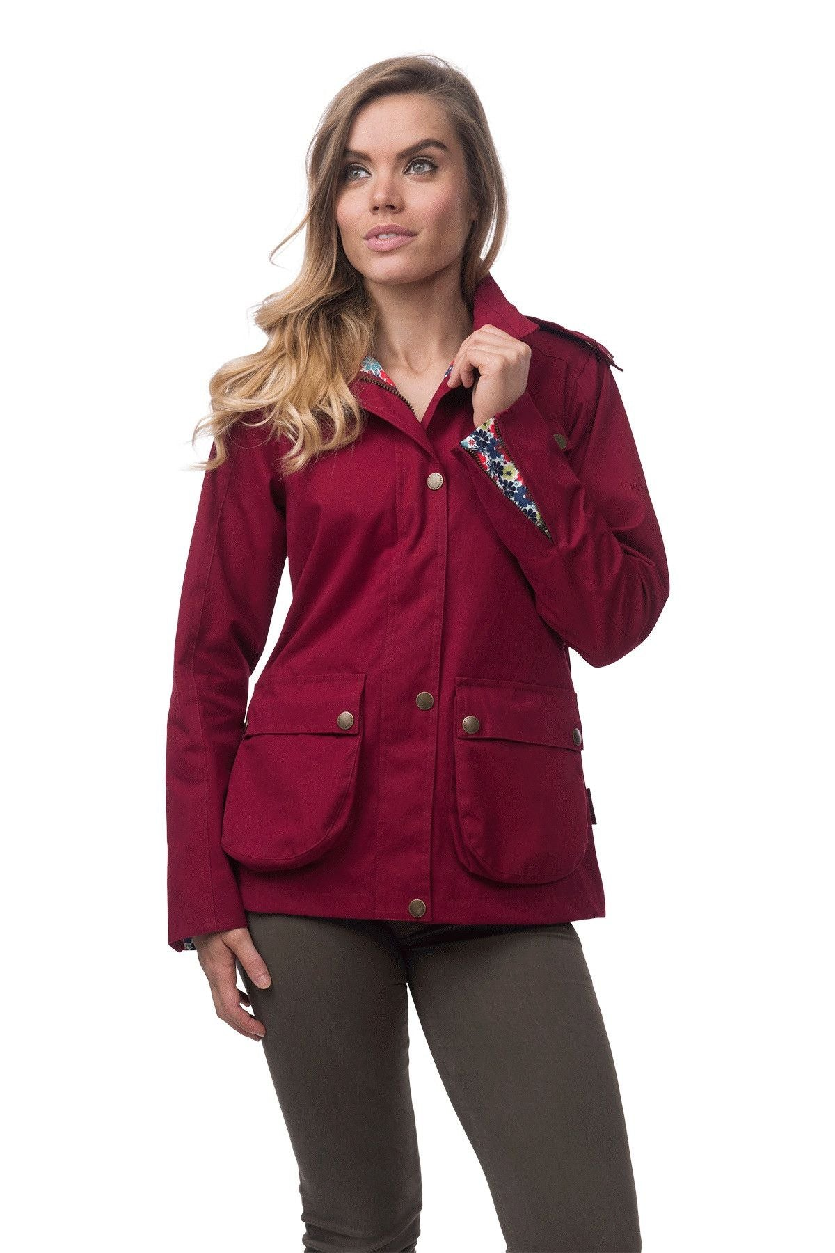 3cc61ff90e3 Kendal Womens Natural Cotton Waterproof Fashion Jacket