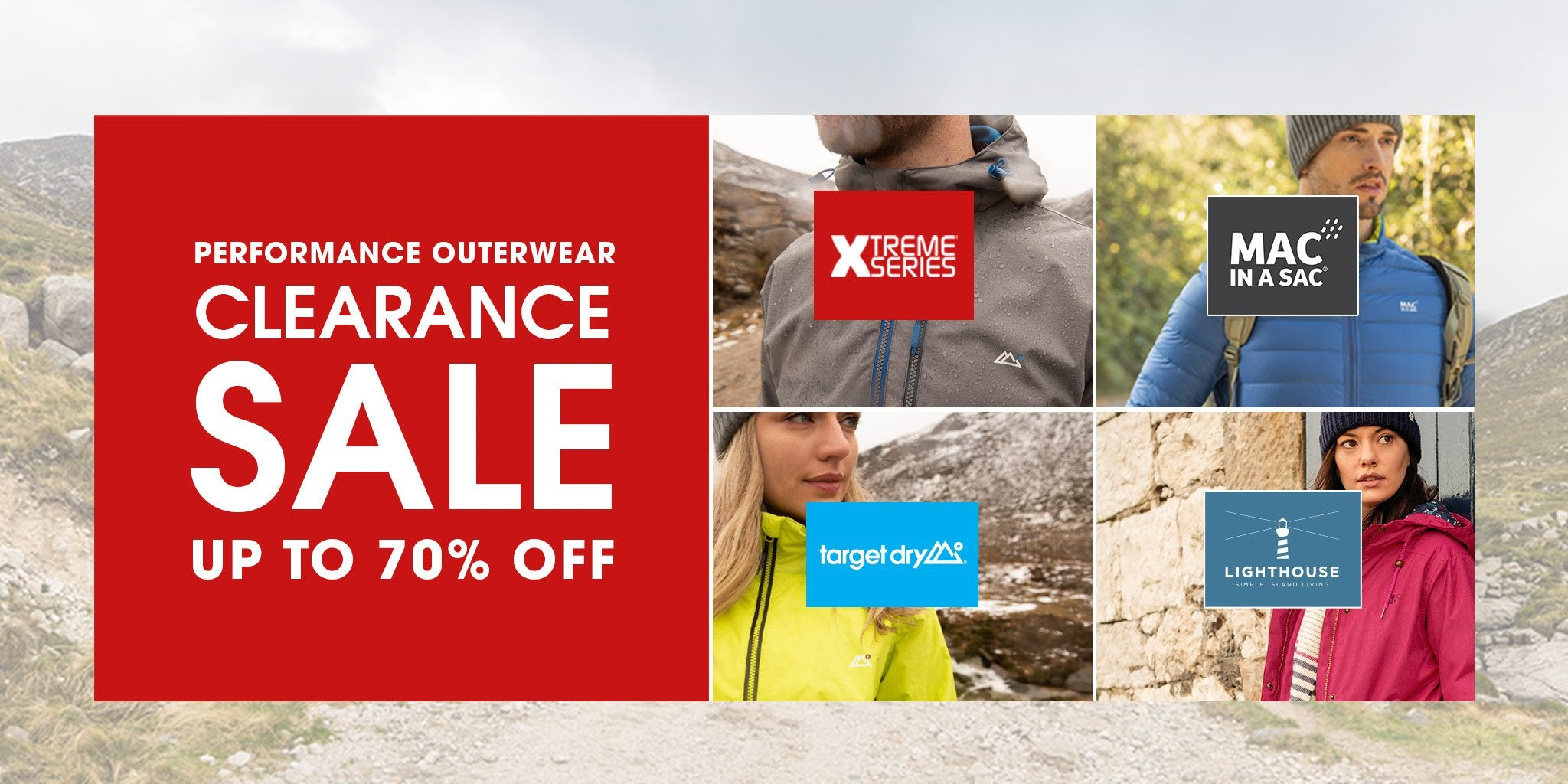 xtreme series, 40% off sale on technical outerwear
