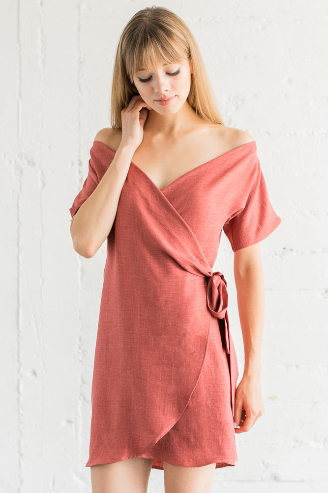 Love is Kind Wrap Dress