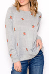 Rain Brings Flowers Sweater
