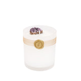 Amethyst Crystal Fragrant Candle