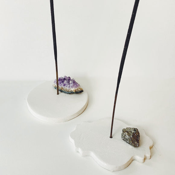 Crystal Incense Holder