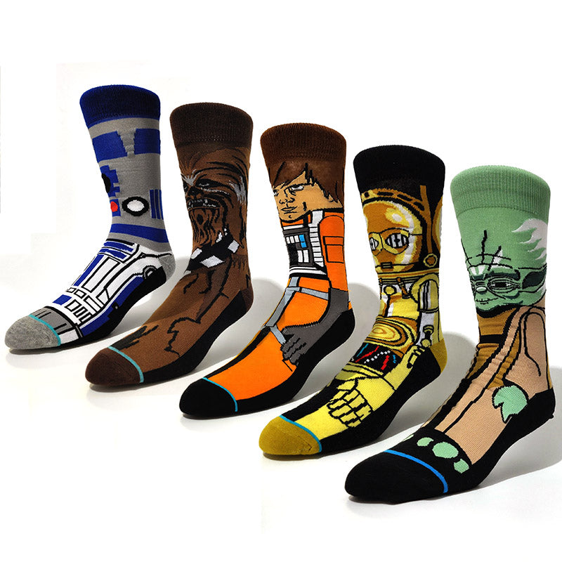 Pack 5 pares de meia - STAR WARS