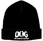 Black Dog The Bounty Hunter Beanie