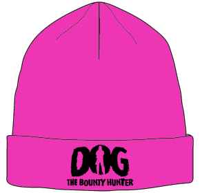 Pink Dog The Bounty Hunter Beanie