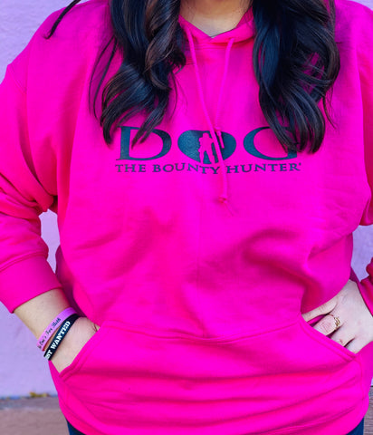 Pink Dog The Bounty Hunter Hoodie *RESTOCKED!*