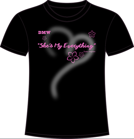 CLEARANCE She's My Everything Black Tee
