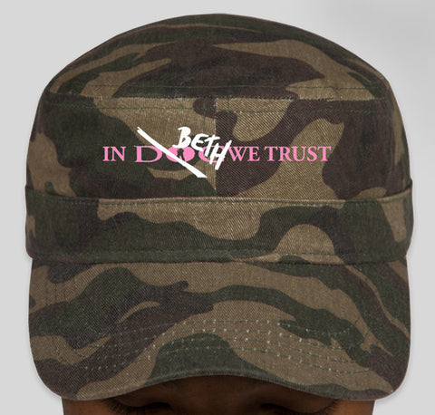 In Beth We Trust Military Cap - Limited Edition!