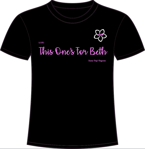 This One's For Beth Black Crew Neck - ALMOST SOLD OUT!