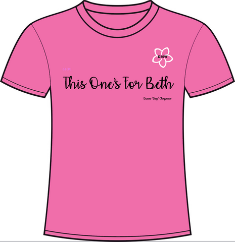 This One's For Beth Pink Crew Neck