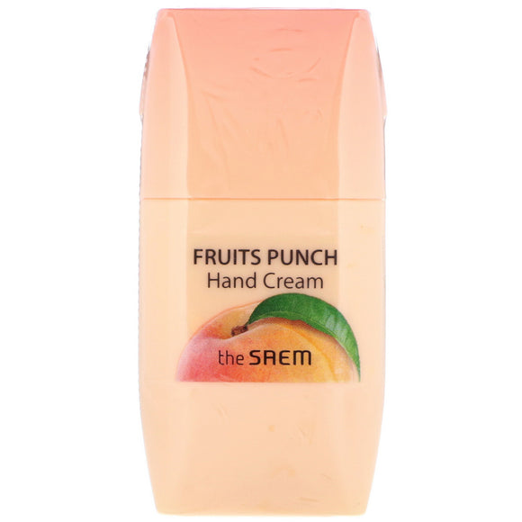 The Seam Fruits Punch Peach Hand Cream 50 ml - DOKSURI