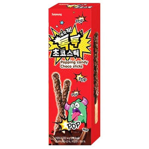 Sunyong Popping Candy Choco Sticks 54g - DOKSURI