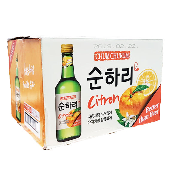 Chum Churum Citricos 360ml Caja 20 pza - DOKSURI