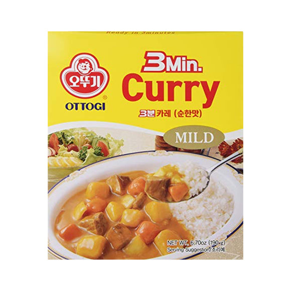 Ottogi 3  Min Curry 200g - DOKSURI