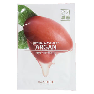 The Saem Natural Argan Mask Sheet