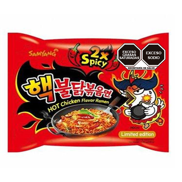 Samyang Hot Chicken 2x  140g