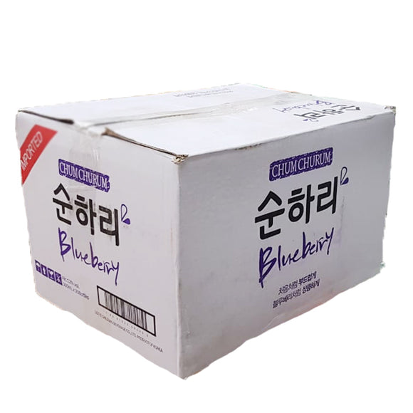 Chum Churum Blueberry 360ml Caja 20 pza