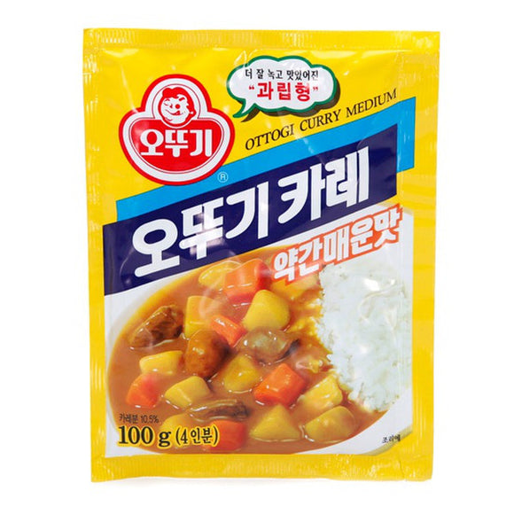 Ottogi Curry Medium 100 gr - DOKSURI