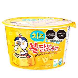 Samyang Hot Chicken Big Bowl Cheese 105g