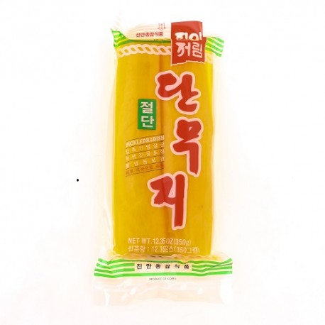 JinAn Sweeted Pickled Radish lamitad 350g