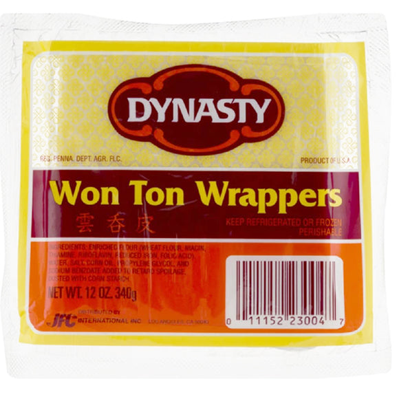 Dynasty Wonton Wrappers 340g
