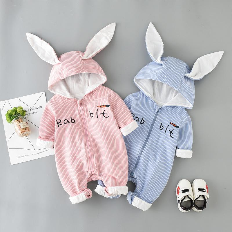 5871fe569 Autumn Baby Long-sleeved Jumpsuit Girls Baby Clothes Fashion kids ...
