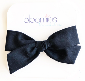 Navy Knot Bow