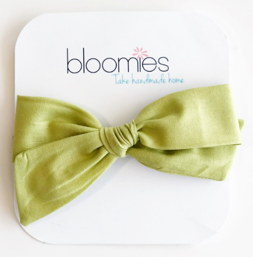 Chartreuse Knot Bow