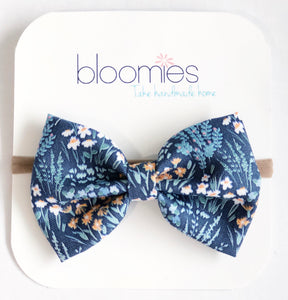 Harvest Fall Cotton Bow - Bloomies Handmade