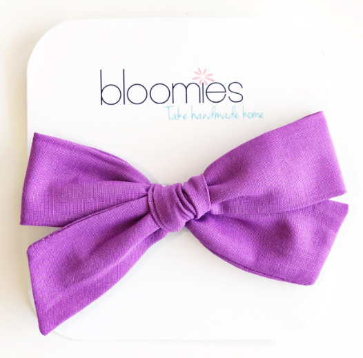 Lavender Knot Bow
