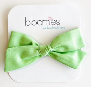 Mint Knot Bow