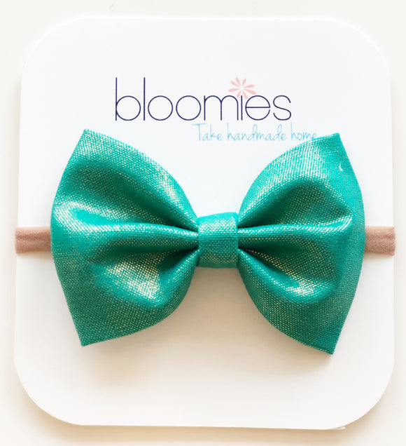 Mermaid Cotton Bow - Bloomies Handmade
