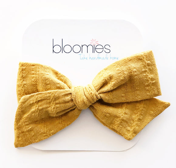 Mustard Knot Bow