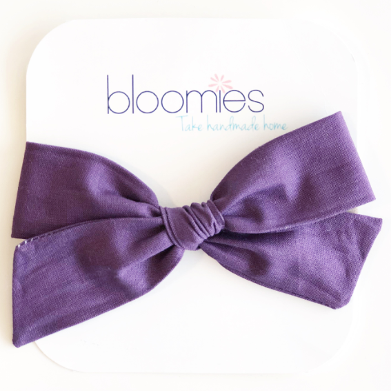 Plum Knot Bow