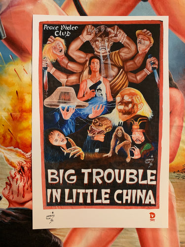 BIG TROUBLE IN LITTLE CHINA (High Quality Print) - Magasco