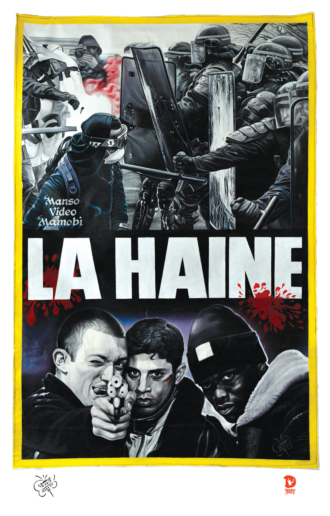 LA HAINE (High Quality Print) - C.A. Wisely